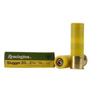 """Remington Remington Slugger (20 Gauge 2-3/4"""" 5/8oz Hollow Point Slugs)"""