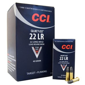 CCI/Speer CCI Quiet 22LR 40 Grain Lead Round Nose (500rd/Box)