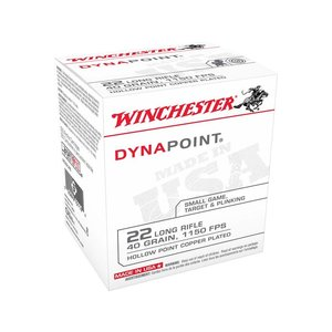Winchester Winchester DynaPoint 22LR 40 Grain Hollow Point Copper Point (Box of 500)