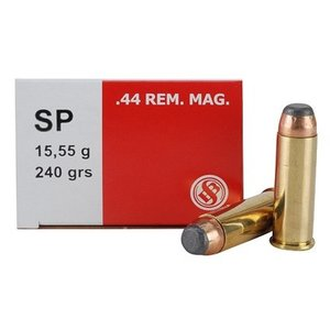 Sellier & Bellot Sellier & Bellot 44 Remington Magnum (240 Grain SP) 50 rds.