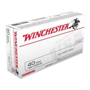 Winchester Winchester 40 S&W (180 Grain FMJ) 50 rds