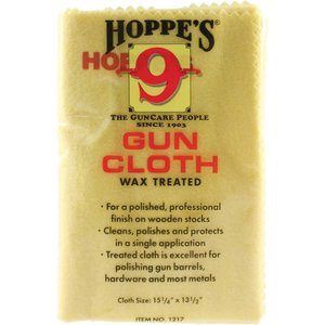 "Hoppes Wax Treated Gun Cloth (11"" x 14"")"