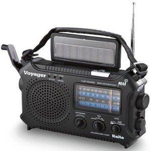 Kaito Kaito Voyager Solar & Crank Radio (Black)