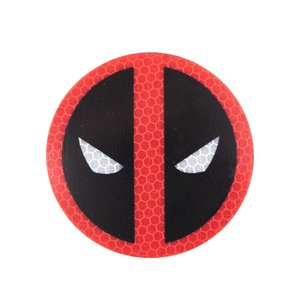 PatchPanel Deadpool Logo Patch (Velcro) Hi-Viz