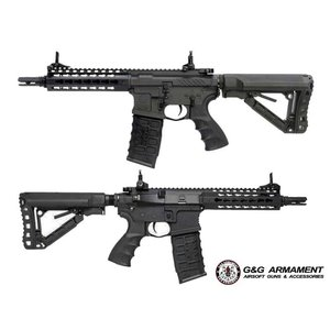 "G&G Airsoft GG CM16 SRS (7"") M4 Airsoft Rifle (w/ Battery & Charger)"