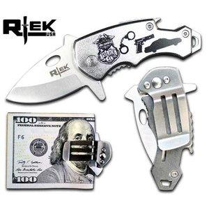 RTEK Police Mini Spring Assist Knife (RT4659-PO)