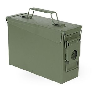 US Military Ammo Can .30 Cal (Fresh) US Style (OD Green)