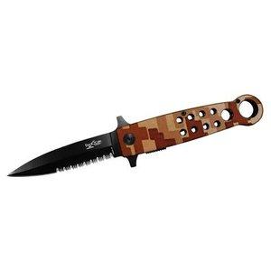 Duck Desert Digital Camo Ringed Spring Assist Knife (DK0027-DC)