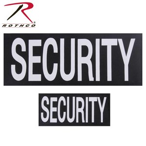 Rothco Security Patches Lot (x2) Velcro