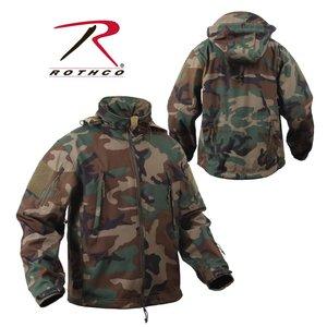 Rothco Rothco Woodland Camo Softshell Jacket