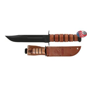 KA-Bar KA-BAR USMC Brown Sheath (1217)