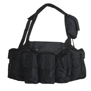 Fox Outdoors Fox 7 Pocket Chest Rig Black