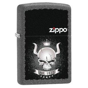 Zippo USA Zippo Skull Crown (28660)