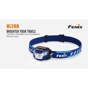 Fenix Fenix HL26R - 450 Lumen Rechargeable Headlamp