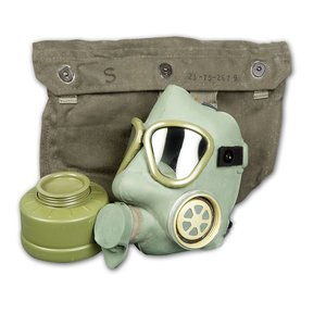 Yugo / Serbian Surplus Yugo / Serbian MC-1 Gas Mask with Filter & Bag