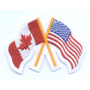 CPK Canada / USA Friendship Patch