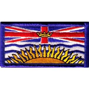 "CPK BC / British Columbia Patch (1.5"" x 3"")"