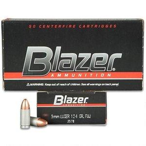 Blazer/CCI Blazer 9mm Luger 124 Grain FMJ (#3578)