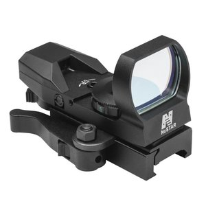 NcStar NcStar Red Four Reticle Reflex / QR Mount (D4BQ)