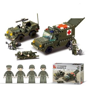 Sluban Sluban Army Ambulance (M38-B6000)