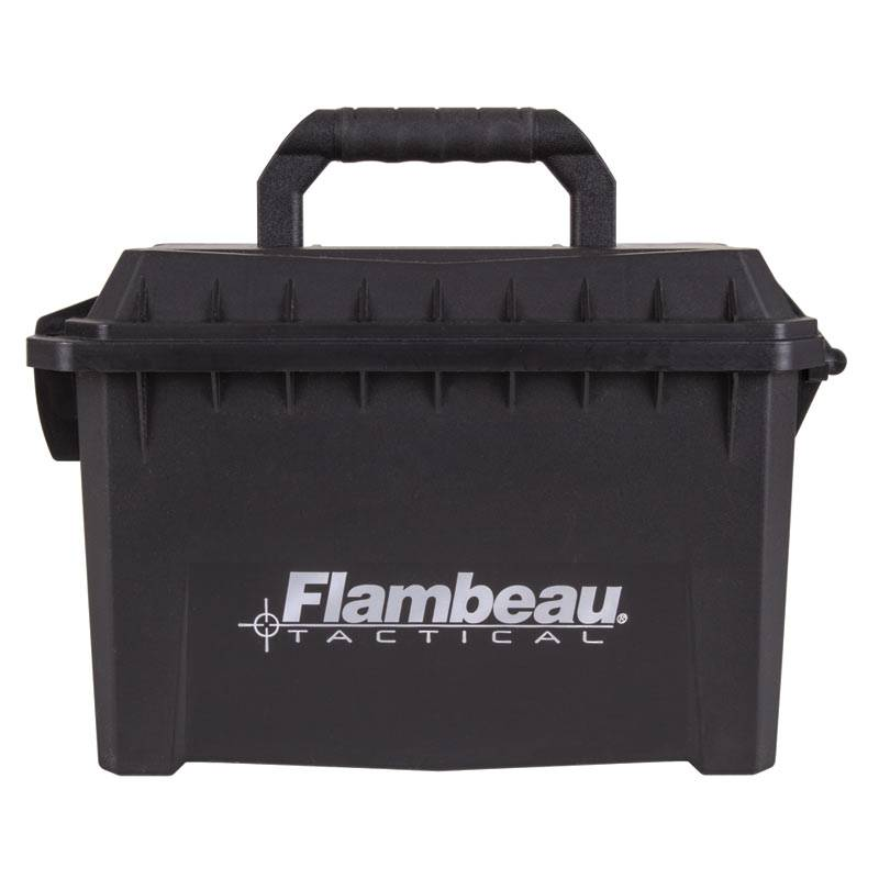 Flambeau Flambeau Small Ammo Can Black Plastic 6415sb