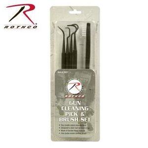 Rothco Rothco Gun Cleaning Pick & Brush Set (#3821)