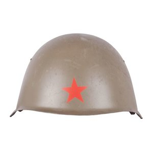 Eastern Bloc Russian M52 Steel Helmet (w/ Red Star)