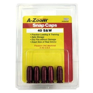 Pachmayr A-Zoom 40 S&W Snap Caps (#15114)