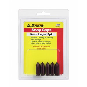 A-Zoom A-Zoom 9mm Luger Snap Caps (#15116)