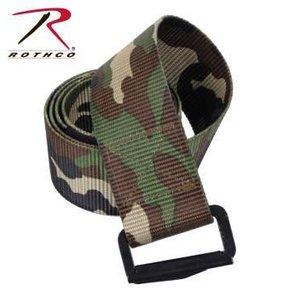 """Rothco Rothco Adjustable BDU Belt - Woodland Camo (44"""")"""