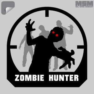 Milspec Monkey Zombie Hunter Decal