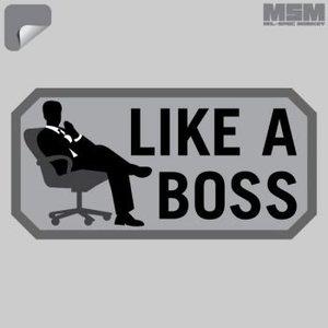 Milspec Monkey Like A Boss Decal