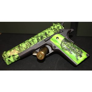 Iver Johnson Iver Johnson M1911a1 (Zombie Green 9mm) W / 2 Mags