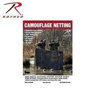 """Rothco Rothco Camo Netting (3'10"""" x 9'10"""") WM01 (#6505)"""