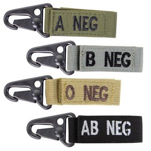 Condor Outdoor Condor Blood Type Key Chain - AB - (Negative)