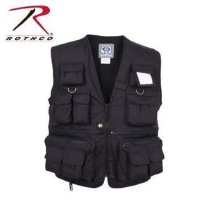 Rothco Rothco Uncle Milty Travel Vest (Black)