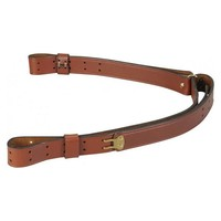 Levy's Leathers Levy's Military Leather Sling 1.25 - Walnut (T2-WAL)
