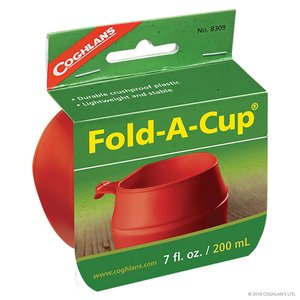 Coghlan's Coghlan's Fold-A-Cup Red
