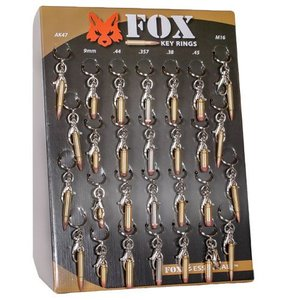 Fox Outdoors Bullet Key chain (Assorted Calibers)