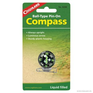 Coghlan's Coghlan's Ball-Type Pin-On Compass (#8268)