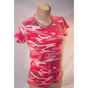 *Clearance* Ladies Camo T-Shirt