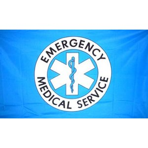 Emergency Medical Technician Flag