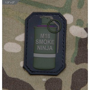 Milspec Monkey Smoke Ninja PVC Patch