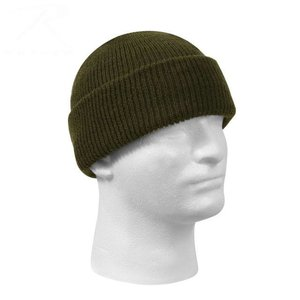 US Military Surplus Rotcho Wool Watch Cap (Olive Drab Green) 5779