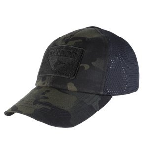Condor Outdoor Condor Mesh Tactical Cap - Multicam Black (TCM-021)