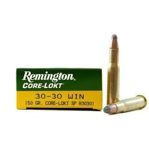 Remington Remington Core-Lokt 30-30 Winchester 150 Grain PSP (#R30301)