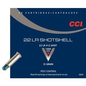 CCI/Speer CCI Shotshell 22 LR (#12 Shot) 31 Grain (#39)