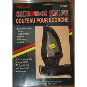 Bushline Bushline Skinning Knife (No. H29)