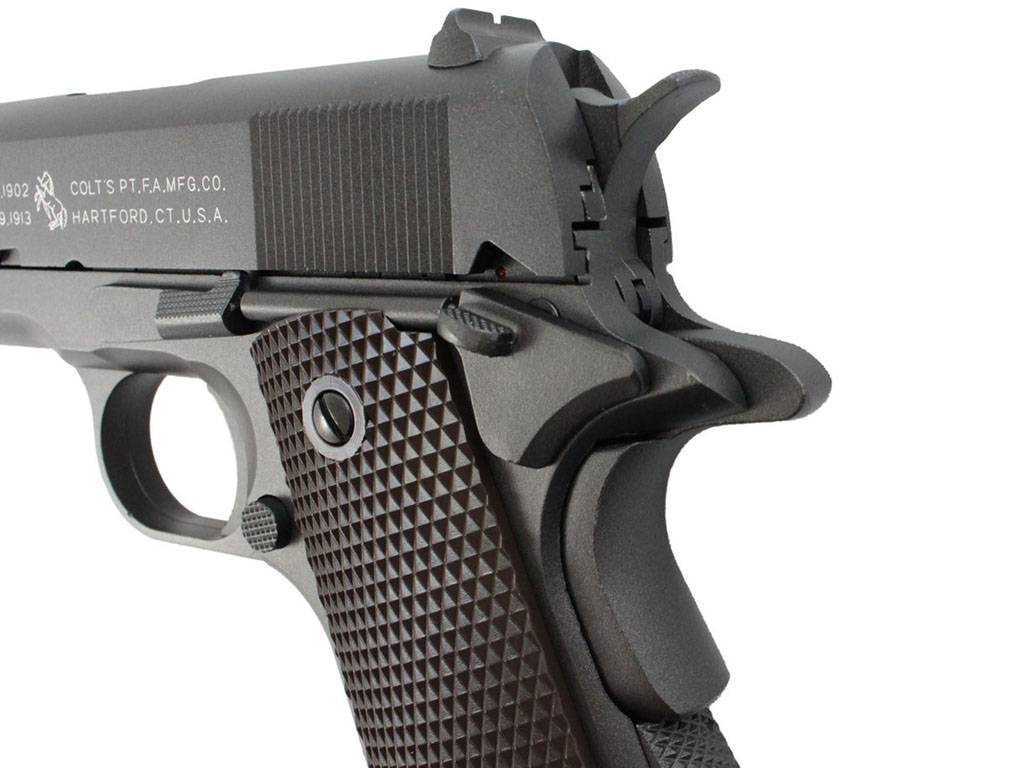 Cybergun Colt 1911 A1 Airsoft Pistol Blowback Full Metal
