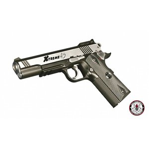 G&G Airsoft G&G  Xtreme 45 Co2 Airsoft Pistol - Silver